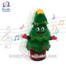 15quot Twisting And Singing Christmas Tree Decoration Toy