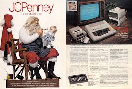 Jcpenney Christmas Trees by Atari 8 Bit Ads Merry Christmas From Your Atari Computer