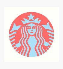 Starbucks Logo Art Print