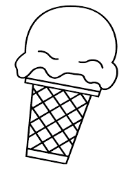 Ice Cream Coloring Pages 5