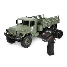1:16 Remote Control Military Truck 6 Wheels Drive Off-Road RC Car ...