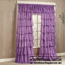 Pink Ruffled Window Curtains by Living Room Awesome Window Curtains Designs With Wonderful Curtain