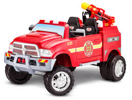 100 Fire Truck Pictures 12Volt RAM 3500 RideOn Toy Car By Kid Trax Red
