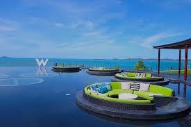 100 W Hotel Koh Samui Thailand Best Beach Clubs In Ministry Of Villas