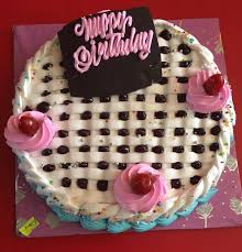 Happy Birthday Cake Checker 1001 line Pokhara Cakes and