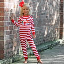 unisex elf on the shelf knit pajamas red stripe smocked auctions