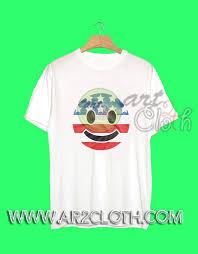 American Flag Emoji Independence Day T Shirt