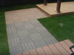 wood deck tiles installation choosing wood deck tiles for your