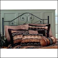 Wrought Iron King Headboard And Footboard by Bedroom Magnificent King Metal Bed Frame With Modern Square