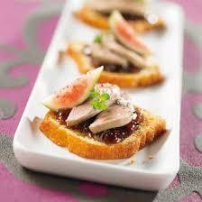 recette canape canapés de foie gras au quatre quarts magazine avantages