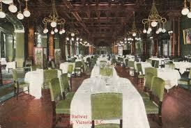 Postcard Empress Hotel Dining Room Victoria BC C1910