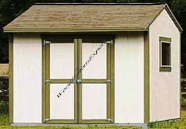 6x8 Saltbox Shed Plans by Amazon Com Shed 10 X 8 Paper Plans So Easy Beginners Look Like
