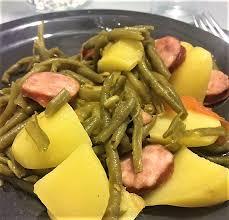 cuisiner des saucisses fum馥s recette saucisses fumées haricots verts et pommes de terre d elodie
