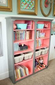 best 25 girls bookshelf ideas on pinterest painted bookshelves