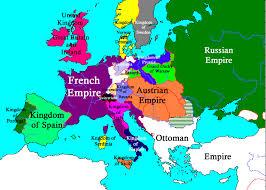 Napoleonic Europe 1812 Map