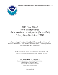 PDF) 2011 Final Report On The Performance Of The Northeast ...