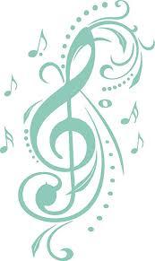 grazdesign wandaufkleber wohnzimmer flur violinschlüssel mit