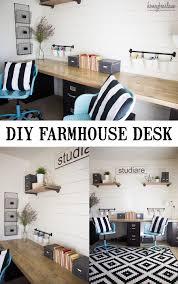 Borgsjo Corner Desk Assembly Instructions by Diy Built In Desk Using Ikea Butcher Block And Home Depot Desk