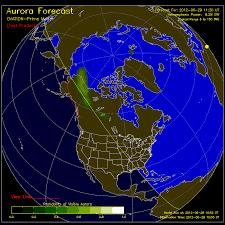 northern lights forecasts ovation