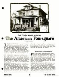 American Foursquare Floor Plans Modern by Favorite Foursquare Hwbdo10122 Craftsman House Plan From For