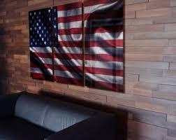 Flag wall art