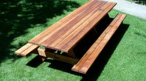 100 wood picnic table plans free ana white build a bigger