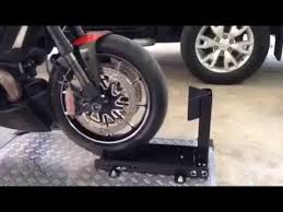 Easy Stand Product Motorcycle Display