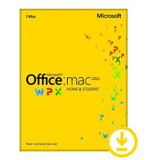Microsoft fice for MAC Home and Student 2011 – Retail