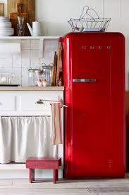 Vintage Appliances Why Buy Any Old Appliance When You Can Get One With Decorative Charm Like This Smeg Fridge Bonus They Take Up Less Space