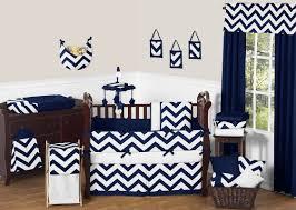 Navy And Coral Crib Bedding by Chevron Crib Bedding Pieces You U0027ll Love Wayfair