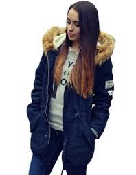 womens winter coat blue your fashionable jacket photo blog