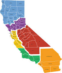 Just To The South Of Jefferson New State North California Shown As Purple On Map Would Be Much Larger With A Population Almost Four