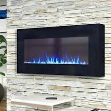 Wade Logan Arlo LED Wall Mounted Electric Fireplace & Reviews