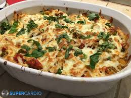 cuisiner courgette spaghetti gratin de courge spaghetti supercardio