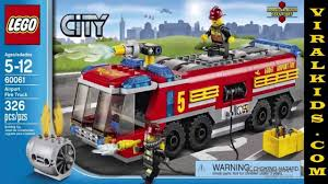 LEGO City - Airport Fire Truck 60061 - Toys Review - YouTube Its Not Lego Lepin 02036 City Truck Building Set Review Lego Airport Fire Set 60061 Youtube Airport Ebay From 15679 Nextag Airport Fire Truck 7213 Offroad And Fireboat I Brick Itructions 7891 Yellow Complete Town Square Firetruck 2100 En Mercado Libre Buy Great Vehicles Multi Color Online Station Remake Legocom Hobbydigicom Shop