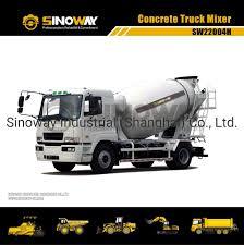 100 Concrete Truck Capacity Hot Item 4m3 4X2 Transit Mixer