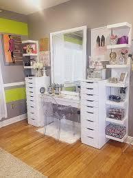 Grey Laminate Flooring Ikea For Bedroom Ideas Of Modern House Elegant Makeup Storage Vanity Svepm2016