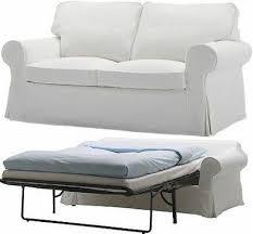 ektorp sofabed cover blekinge white 2 seat sofa bed slipcover new