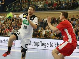 Image May Contain 1 Person Playing A Sport And Text 1 Bundesliga Handball Ergebnisse