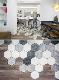 Faux Marble Hexagon Floor Tile by Best 25 Hexagon Floor Tile Ideas On Pinterest Hexagon Tiles