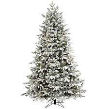 Fraser Fir Artificial Christmas Tree Sale by Artificial Christmas Tree Led Lights With Ge 7 5 Ft Pre Lit Led