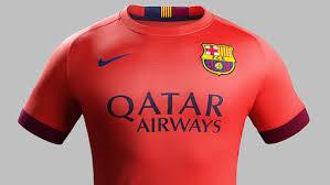fc barcelone maillot extérieur 2014 2015