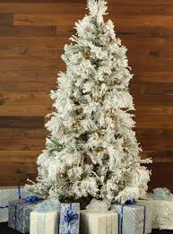 Snowy Dunhill Christmas Trees by Snowy Pine Christmas Tree With Smart String Lighting