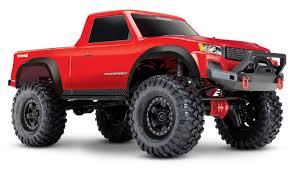 100 Sport Truck Traxxas TRX4 4WD With TQ 24GHz Radio System TRA82024