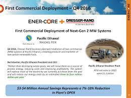 ener core pik note execution signals market acknowledgement of
