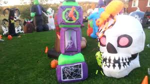 Halloween Inflatable Arch by 100 Inflatable Halloween Lawn Ornaments Amazon Com