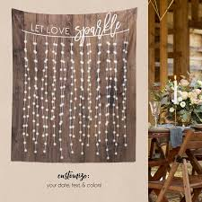 Rustic Wedding Engagement Decor Decorations Party Bridal Shower W G21 TP MAR1 AA3