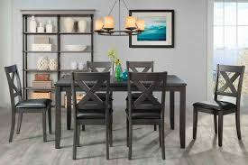 Alex Table With 6 Chairs In Gray | Mor Furniture For Less Zipcode Design Alesha Side Chair Reviews Wayfair Baxton Studio Reneau Modern And Contemporary Gray Fabric Three Posts Kallas Upholstered Ding John Thomas Windsor From 9900 By Danco Chairs The Home Depot Canada Cheap Kid Wood Table And Set Find Dcg Stores Buy Espresso Finish Kitchen Room Sets Online At Overstock Michelle 2pack Shop Nyomi Of 2 Christopher Knight Creggan Joss Main