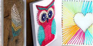 40 Insanely Creative String Art Projects