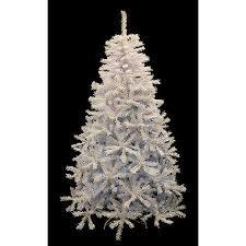 Buy 939 Pre Lit White Cedar Pine Artificial Christmas Tree